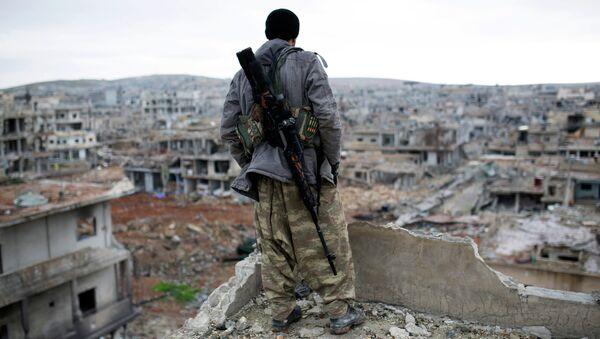 Insurgé syrien. Image d'illustration - Sputnik France