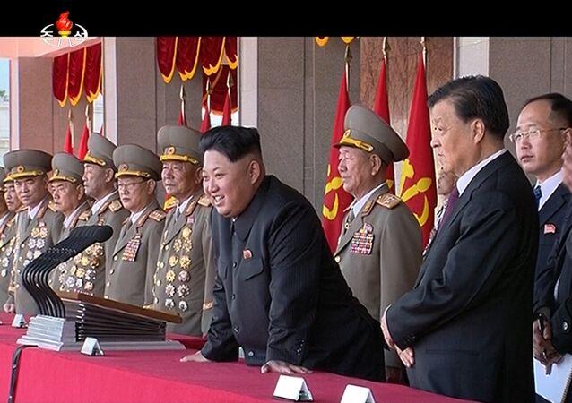 la parade à Pyongyang à l'occasion du 70e anniversaire du parti