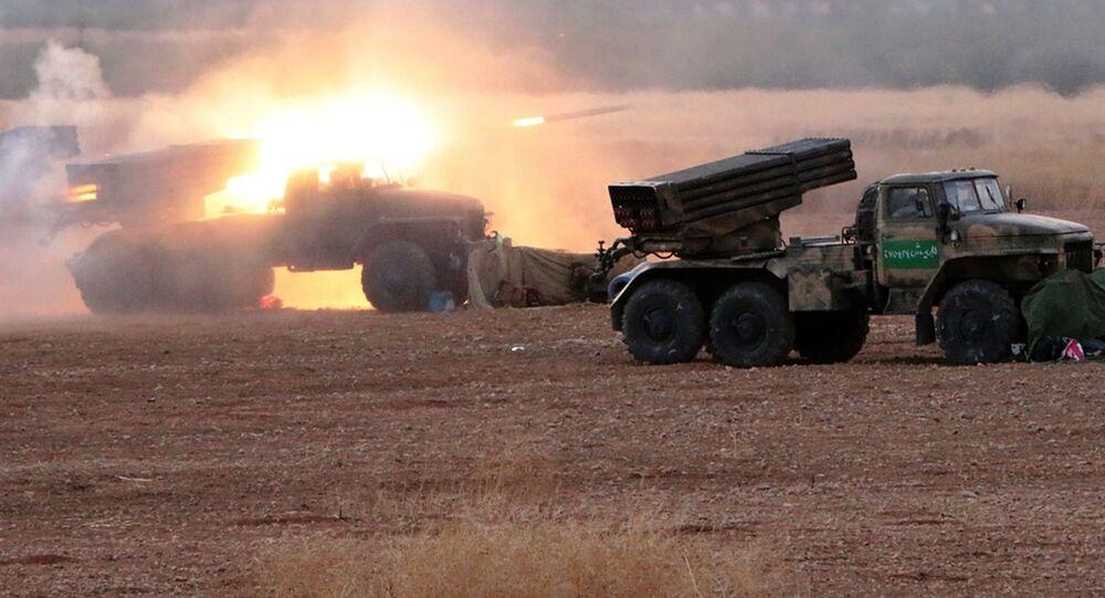L'armée syrienne passe à l'offensive