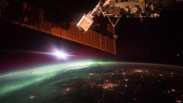 Aurore vue de l'ISS - Sputnik France
