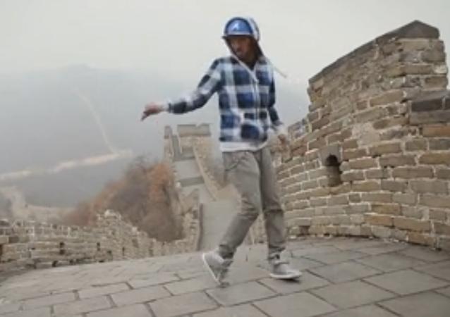 Dubstep sur la Grande Muraille de Chine