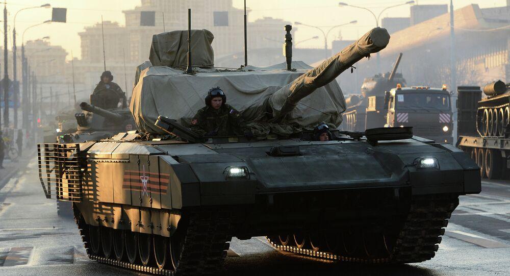 La version sans pilote du char russe Armata pour bientôt