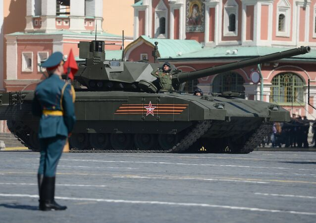 char russe T-14 Armata
