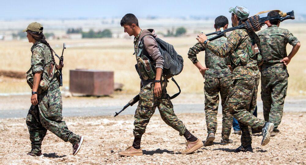 combattants kurdes