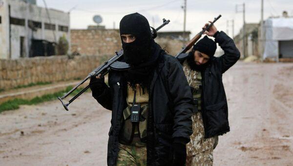 Rebelles en Syrie - Sputnik France