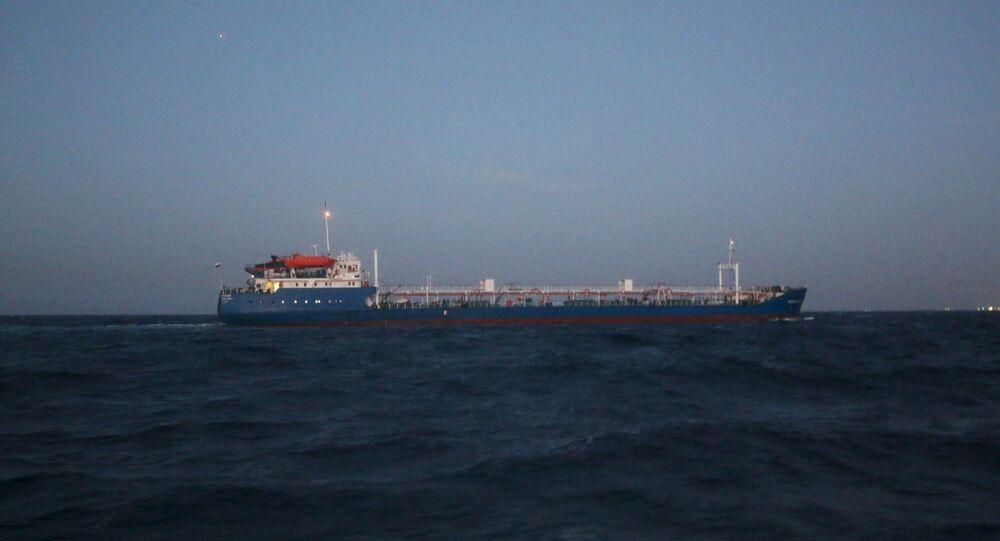 Le navire Mécanicien Tchebotarev en Libye