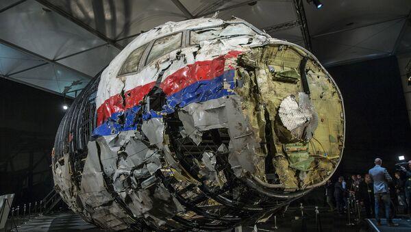 L'épave reconstruite du Boeing 777 de Malaysia Airlines tombé dans le Donbass - Sputnik France
