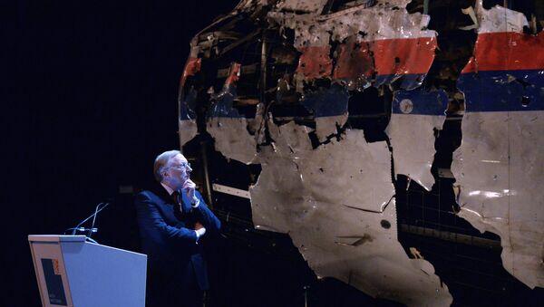 La commission néerlandaise présente les résultats de l'enquête sur le crash du vol MH17 de la Malaysia Airlines - Sputnik France