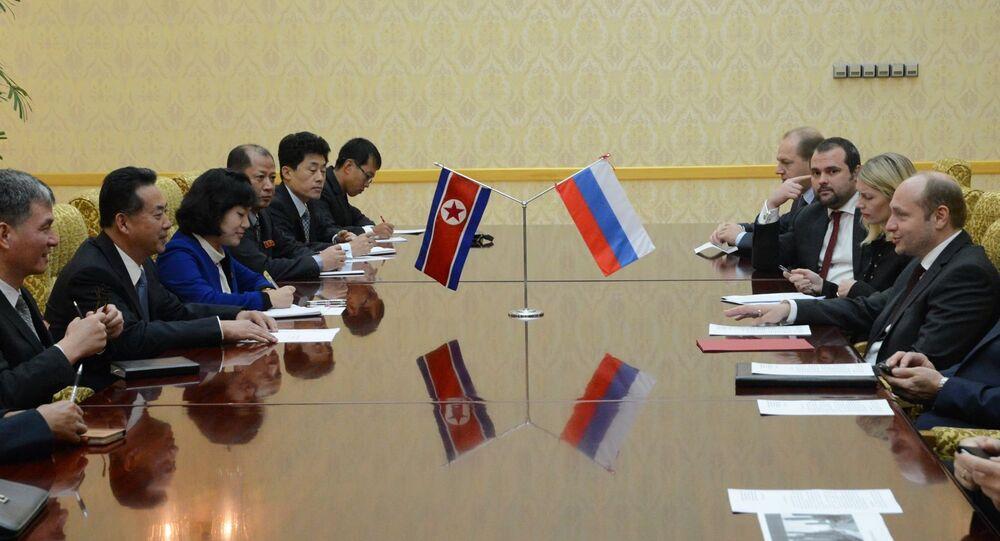 Moscou et Pyongyang étudient la possibilité de fonder dès 2015 une Maison de commerce d'Asie destinée à encourager les échanges commerciaux entre les deux pays