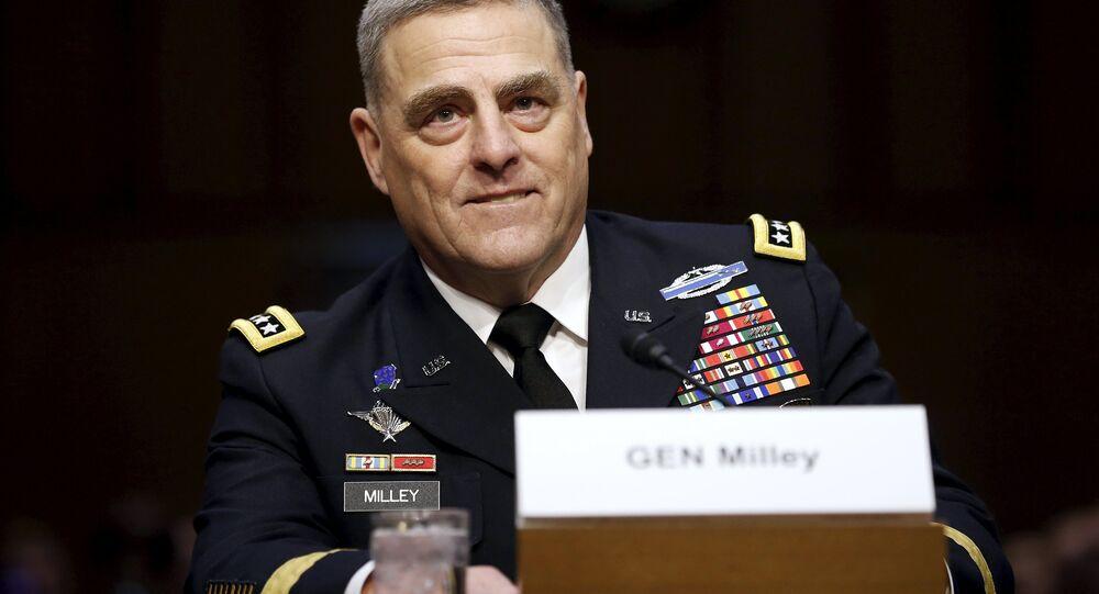 le général US Mark Milley