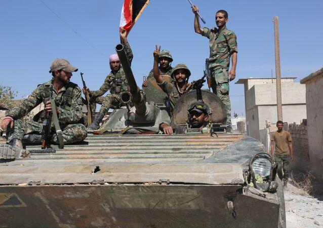 l'armée passe à l'offensive dans la province de Homs