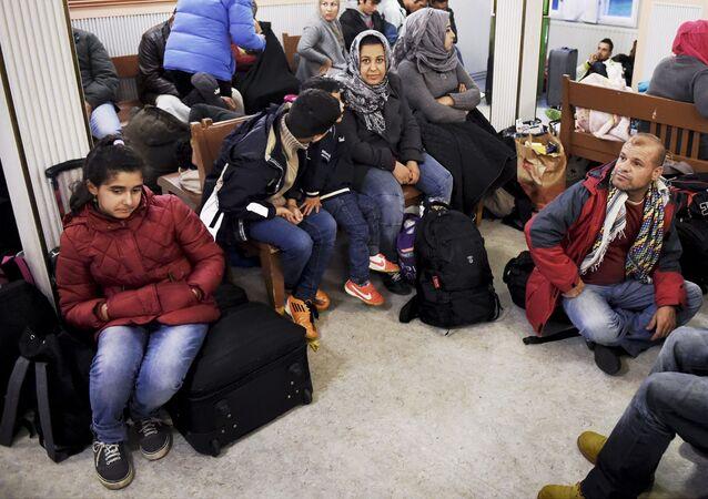 Des migrant à Helsinki