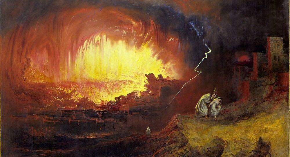 Sodome et Gomorrhe de John Martin, 1852