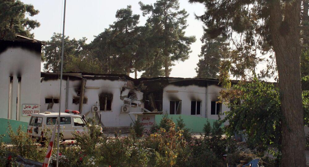 Hôpital MSF de Kunduz, le 14 octobre 2015.