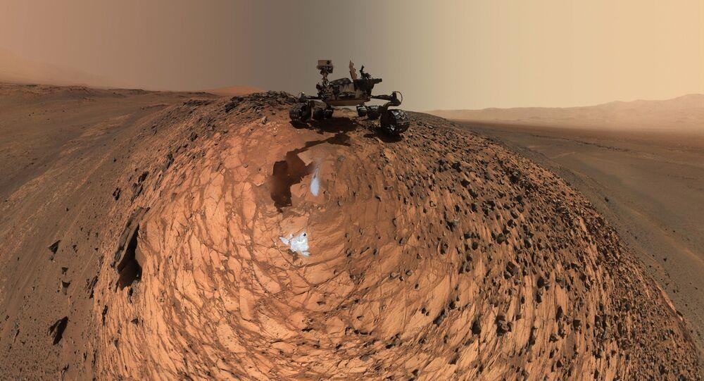 Le robot martien Curiosity