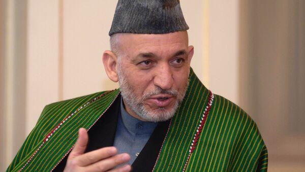 L'ex-dirigeant afghan Hamid Karzai - Sputnik France