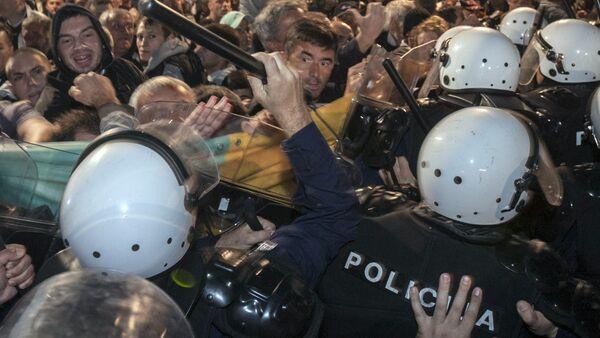 Manifestation anti-Otan au Monténégro - Sputnik France