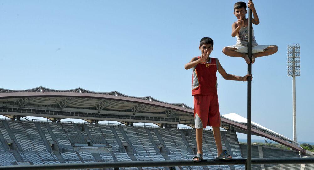 Le stade Hafez al-Assad de la ville syrienne de Lattaquié. Photo d'archive