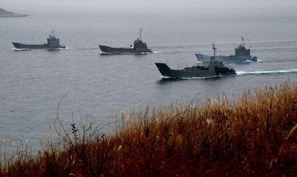 La Marine russe s'exerce à éliminer des terroristes