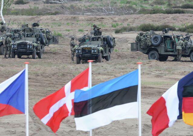 Base militaire de l'Otan, Pologne. Archive photo