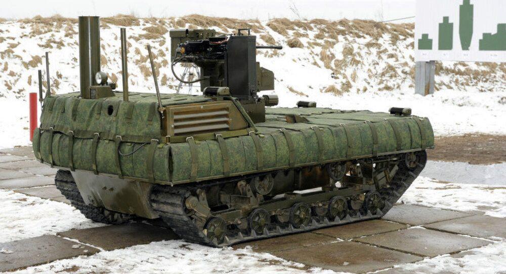 Le robot Taifun-M