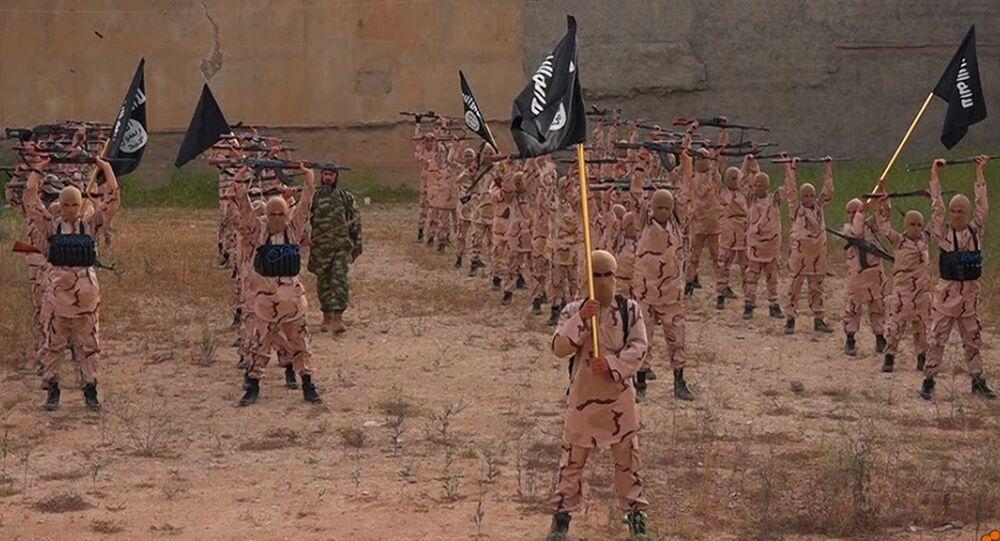 état islamique,centre de formation