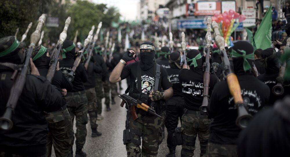 mouvement islamiste palestinien Hamas