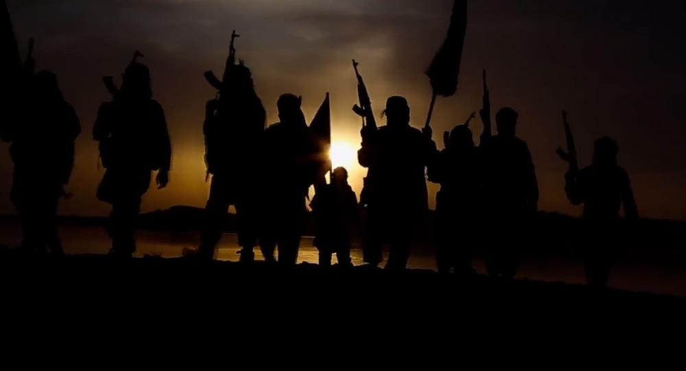 Un camp d'entraînement de l'Etat islamique