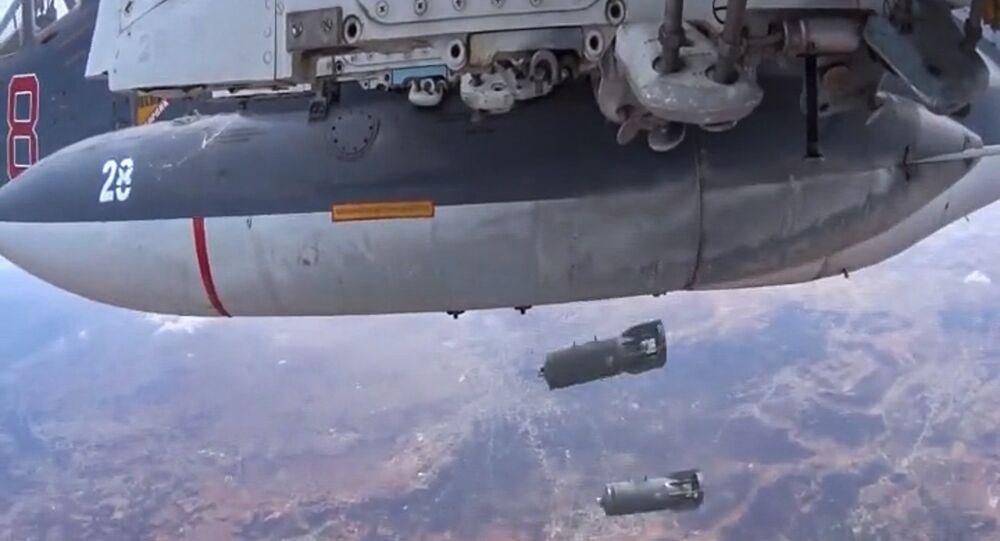frappes russe en Syrie