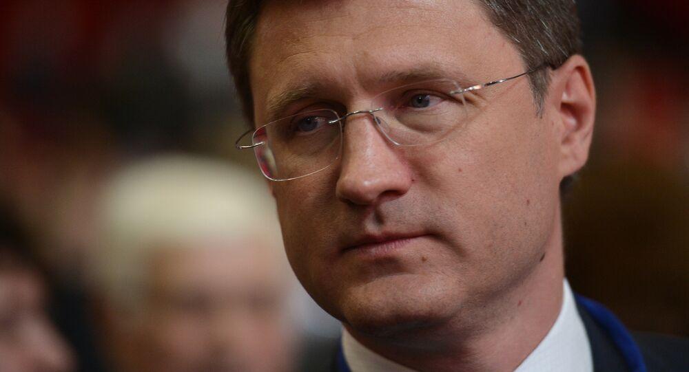 ministre russe de l'Energie Alexandre Novak