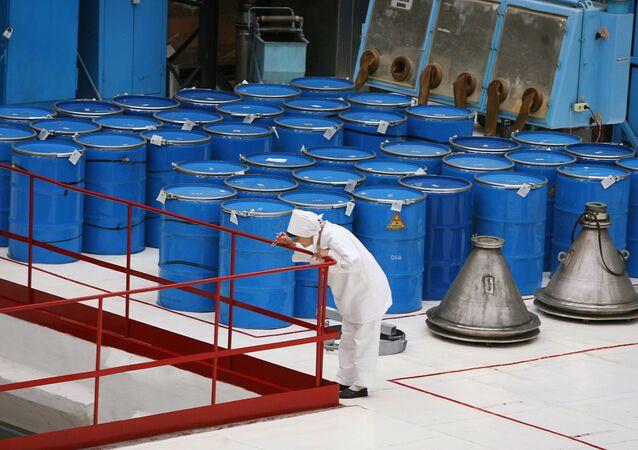 Le dioxyde d'uranium (image d'illustration)