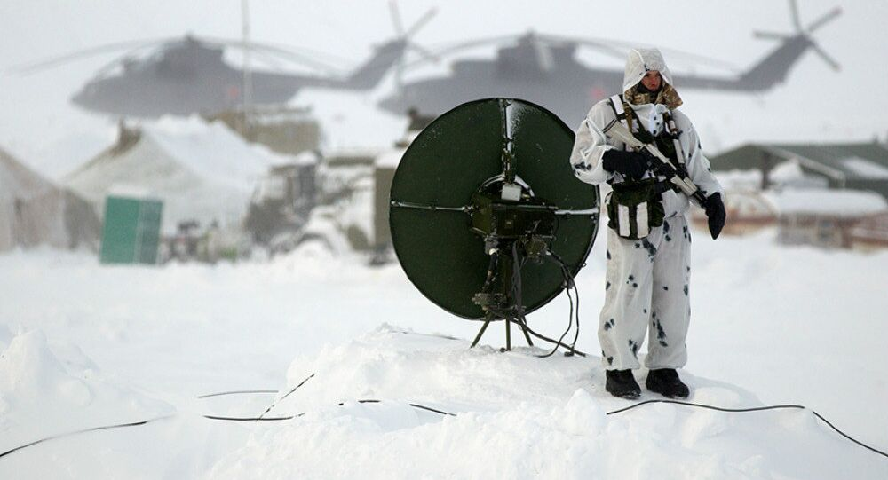 Base militaire russe sur l'île Kotelny