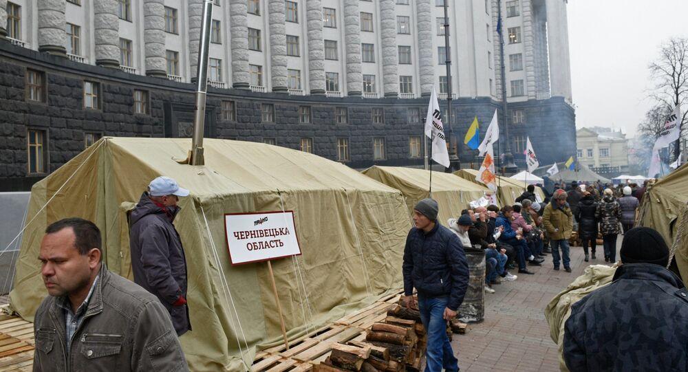 L'action de protestation à l'obligation de réduire les tarifs pour le logement et les services communaux à Kiev