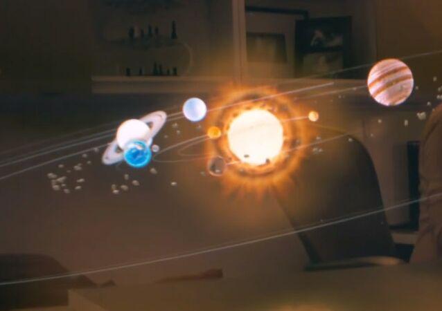 Le système solaire en réalité augmentée