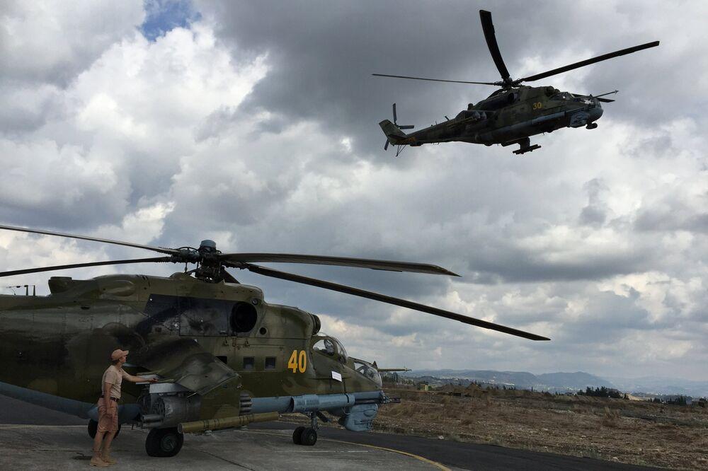 Syrie: les avions russes déployés sur la base de Hmeimim