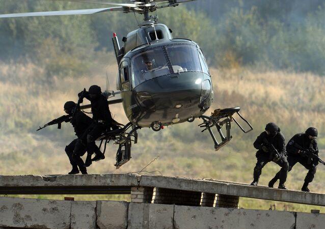 Le 24 octobre, Journée des forces spéciales russes