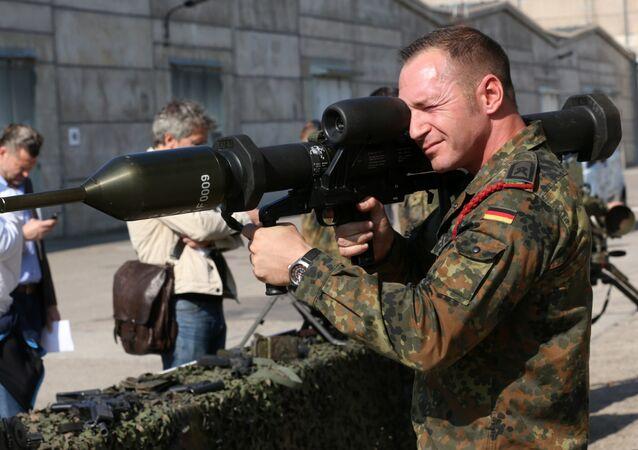 Des armes allemandes