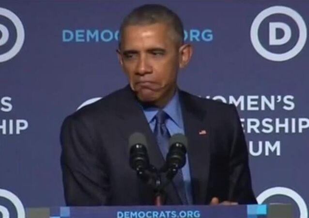 Grumpy Obama