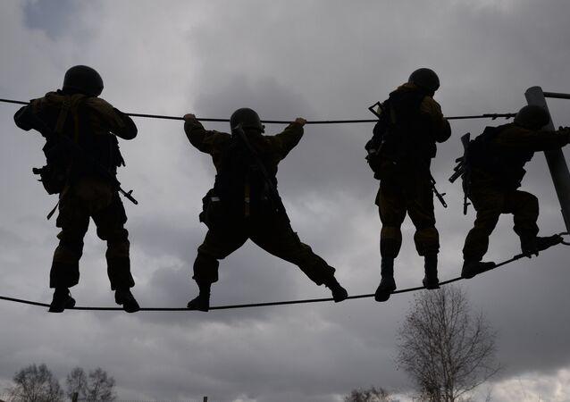 Un concours des unités spéciales russes de Sibérie