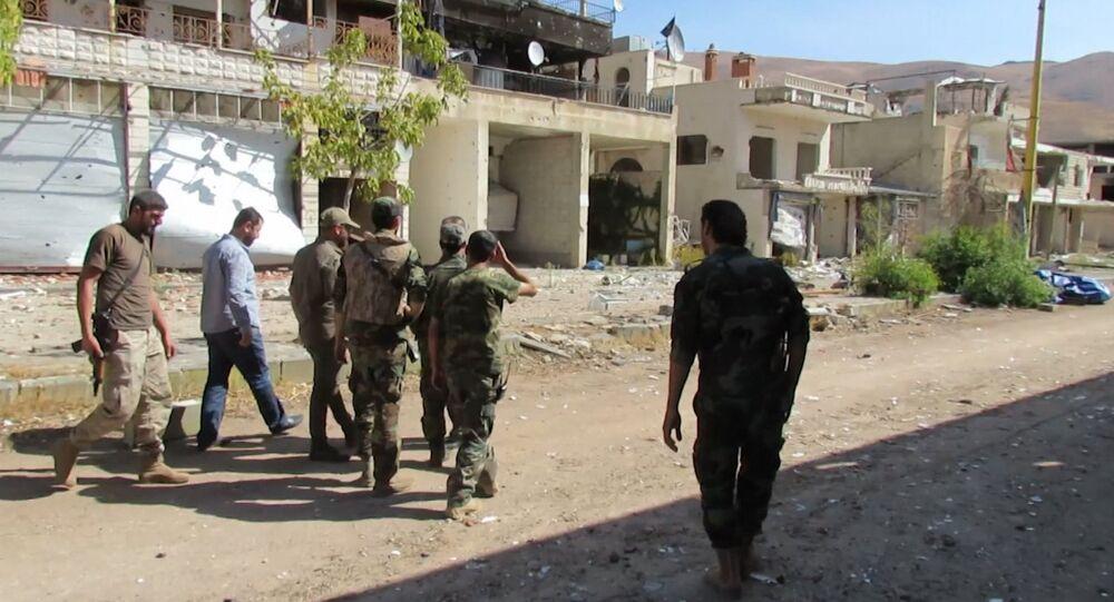 Ville syrienne de Zabadani