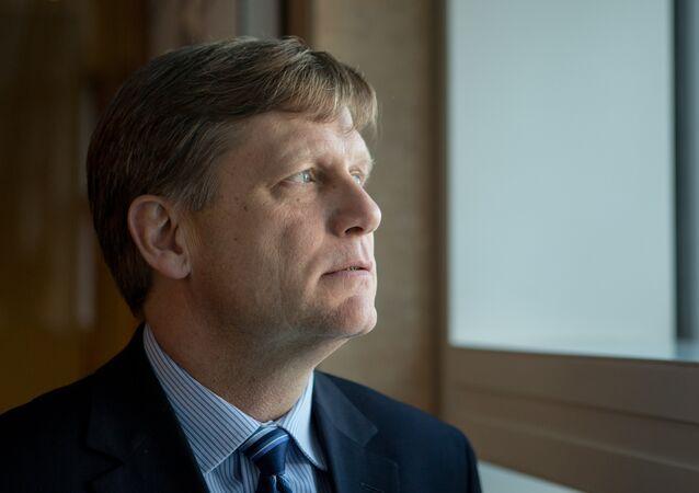 Michael McFaul, ex-ambassadeur US à Moscou