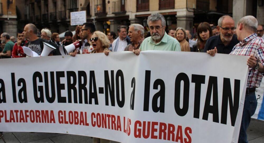 Manifestation à Madrid