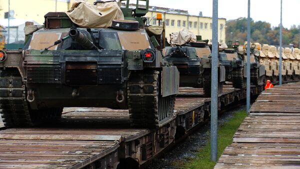 Chars M1A2 Abrams (archives) - Sputnik France