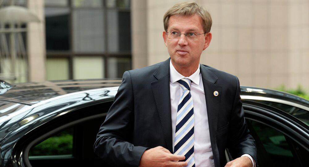 Le premier ministre slovène Miro Cerar à Bruxelles