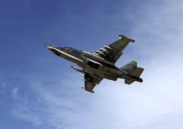 Un Su-25 russe en Syrie