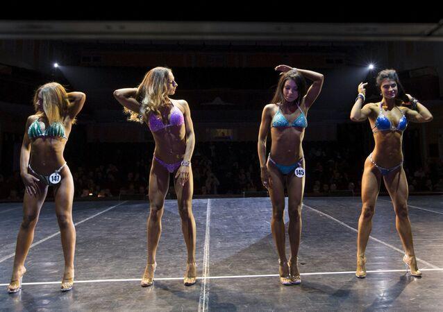 Les bodybuilders biélorusses