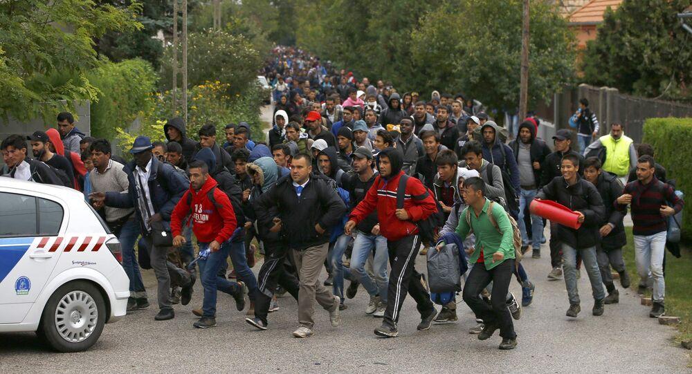 Migrants en Europe
