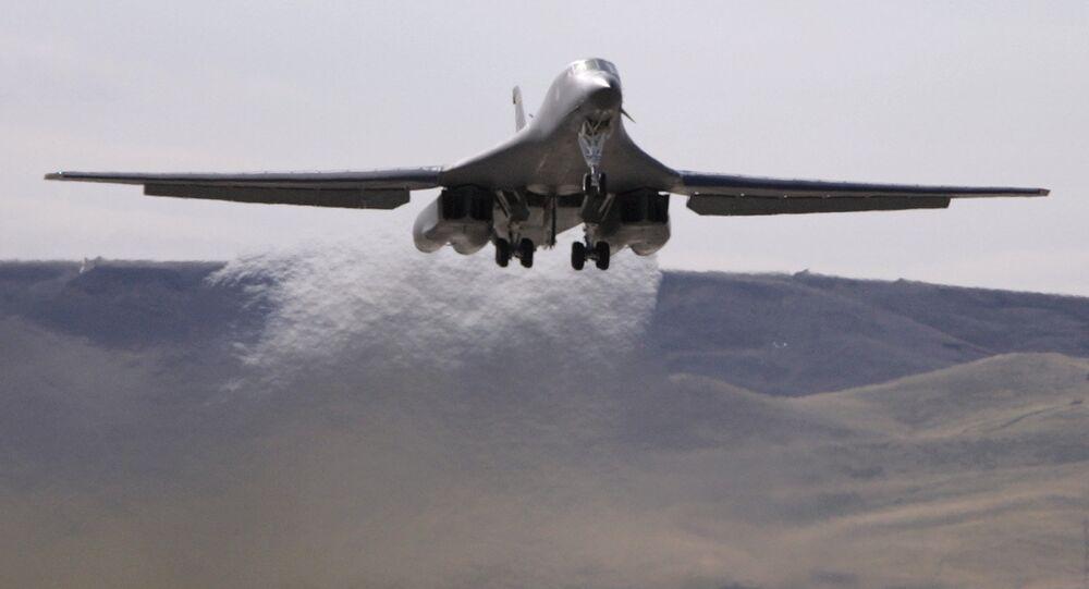 Un bombardier B-52