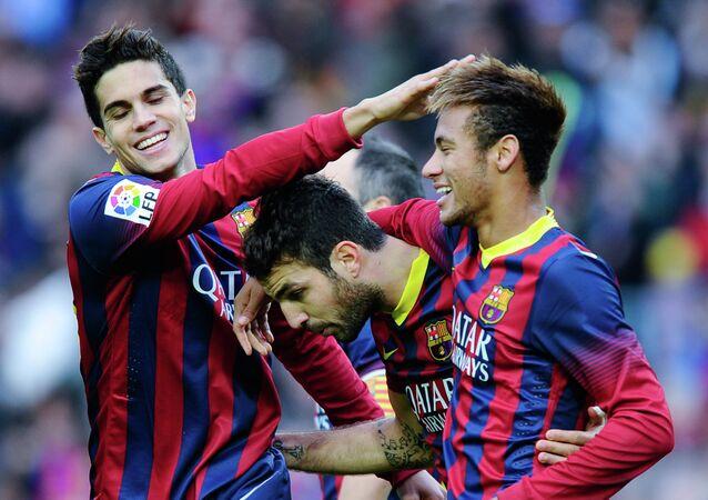 Joueurs du FC Barcelone