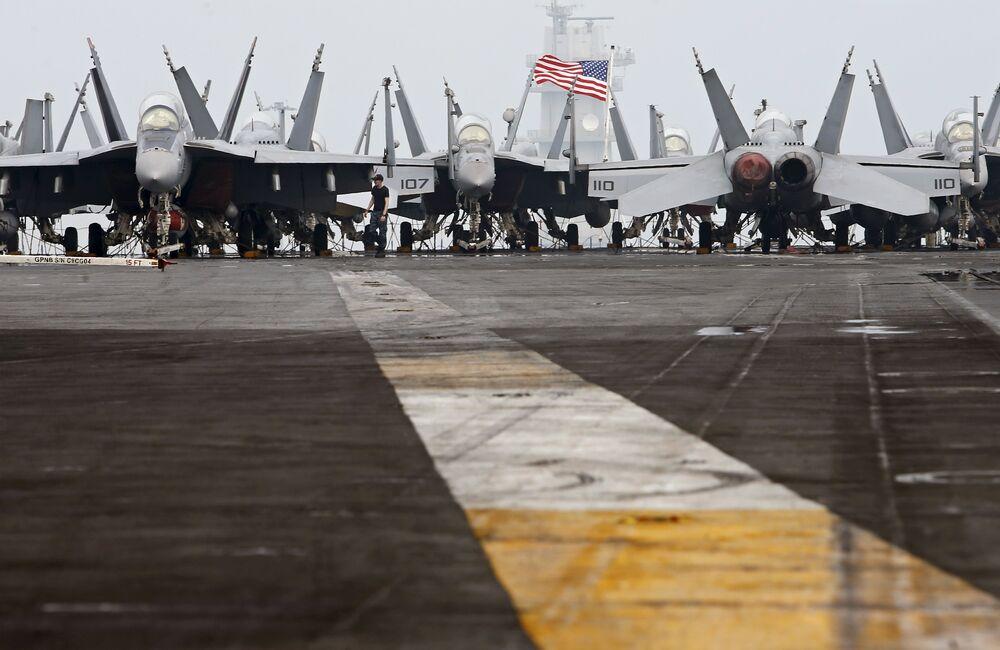 Les USA n'ont plus de porte-avions dans le golfe Persique